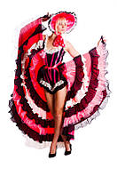 Кан-Кан костюм женский карнавальный