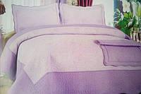 Одеяло с наволочками в нежно фиолетовом тоне