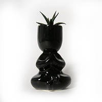 """Экочеловек """"Йог"""", керамика, коллекция Эко """"Люди в чёрном"""""""