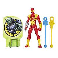 Боевая фигурка Железный Человек-паук (Iron Spider) высотой 15 см с паутинными снарядами. Оригинал Hasbro