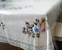 Прозрачная клеенка для защиты тканевой скатерти, деревянных и стеклянных столов, подоконников и другой мебели