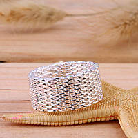 """Кольцо женское Tiffany & Co """"Сияющая кольчуга"""""""