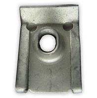 Монтажная металлическая пластина под винт M6, Skoda ОЕМ: 694383, 7703046034, 949921