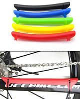 Пластиковая защита пера велосипеда