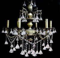 Люстра классическая свечи 12938/6 (50206/6) DAB WT