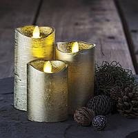 Электронные свечи с имитацией пламени Tenna Gold набор