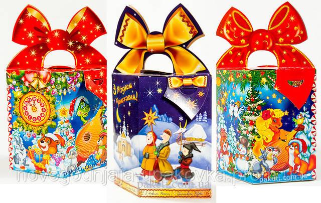Изготовление детских новогодних подарков