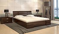Кровать деревянная Дали Люкс из натурального дерева двуспальная