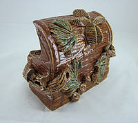 Керамика для аквариума Сундук малый, 12 см.