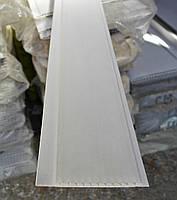 Вагонка пластиковая 100х10х6000мм (хол белый)