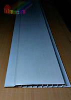 Вагонка пластиковая 100х10х6000мм Люкс (белый)