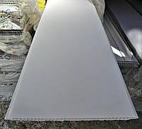 Панель БЕЛАЯ глянец  (250мм*8мм*6000мм) СТГ