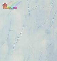 Панель пластиковая250х8х6000мм Мр.Паутинка голубой