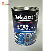 Эмаль алкидная ПФ-115П белая DekArt 0.9кг