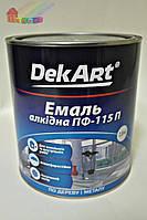 Эмаль алкидная ПФ-115П белая DekArt 2,8кг