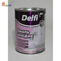 Эмаль алкидная ПФ-115П светло-серая Delfi 0,9кг