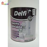 Эмаль алкидная ПФ-115П серая Delfi 2,8кг