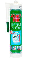 Силікон SOMA FIX (СЕРЫЙ, 310мл; 0315)