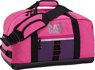Вместительная дорожно-спортивная сумка CAT 82964;186, розовая, 32 л.