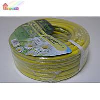НМ-3450 шланг ПВХ поливочный садовый 3-слойный Verdi (3/4*50м)