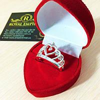 """Кольцо """"Лиза"""" корона, в подарочной коробке!"""