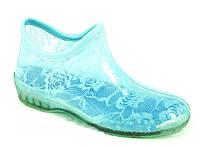 Силиконовые ботиночки  с гипюром