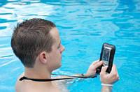 Водонепроницаемый чехол для телефона 15см (Прозрачный, Голубой), фото 1