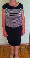 Элегантное женское летнее модное платье из вискозы батал р.50-52