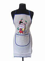 Фартук с вышивкой Встреча (Кухонные фартуки)