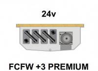 Внутрипольный конвектор FanCoil FCFW +3 PREMIUM, 24v, 125x300x2250мм, для влажных помещений