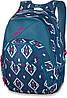 Оригинальный женский рюкзак в ромбики Dakine EVE 28L salima 610934861150 синий