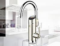 Кран смеситель водонагреватель проточный 3Kw с датчиком температуры.