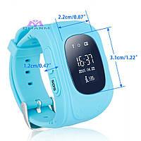 Детские Умные Часы Q50 c GPS, Русифицированные!, голубые