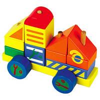 Деревянная игрушка Автомобиль-конструктор №4  Д062