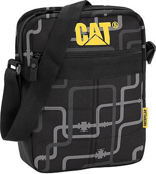 Уникальная мужская сумка CAT 80005;232, черная
