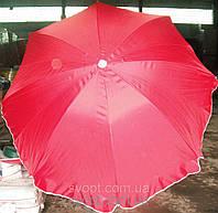Зонт круглый (2,5м) с серебряным напылением