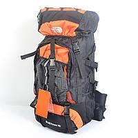 Туристический рюкзак The North Face на 60 литров (оранжевый)