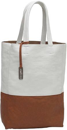 Нестандартная женская сумка шоппер CAT 82965;117, белая, 14 л.