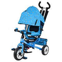 Трехколесный велосипед EVA Foam, колясочный,усиленная двойная ручка. Премиум