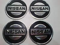 Наклейка на колпак диска Nissan 90 мм