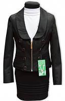 Пиджак школьный для девочек,рост 122-146 см S934