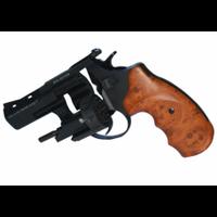 Револьвер п/п Флобера STREAMER R2  черный с коричневой рукоятью