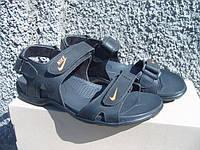 Мужские кожаные сандали Nike (размеры 40-45)