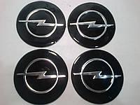 Наклейка на колпак диска Opel 90 мм