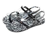 Женские сандалиIpanema Fashion Sandal II Fem чёрные  (размеры 37-42)