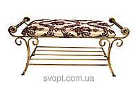 """Кованый диван """"Софа"""" (85х40 см)"""