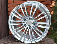 Литые диски R18 5x120 на BMW E46 E90 4 F32 X3 F25 F10 F01 БМВ Титановые