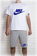 Мужской комплект Nike летний (шорты и футболка)