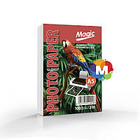 Фотобумага Magic 15х20см (А5) Glossy 210g 100л