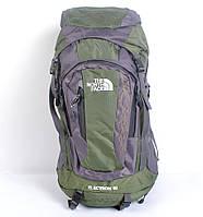 Туристический рюкзак The North Face на 60 литров (хаки)